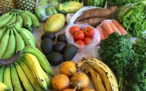 Frugt og grønt er en stor del af Rigtig mad-bevægelsen