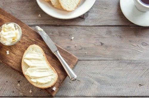 Forskelle på smør og margarine