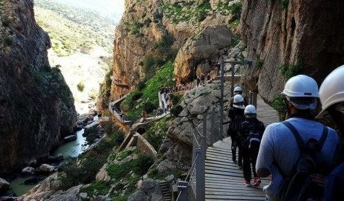 Vandreture i bjerge i Spanien