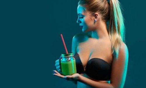 Sunde alternativer som smoothies hjælper med træningen