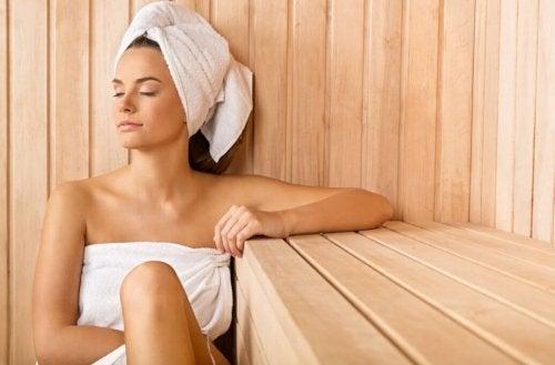 Seks sundhedsmæssige fordele ved sauna