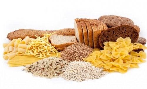 kulhydrats produkter