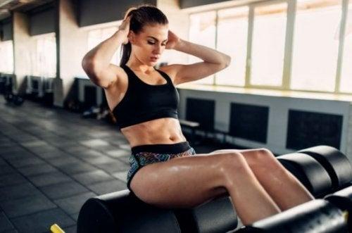 Tre-dags begynder træningsrutine for kvinder