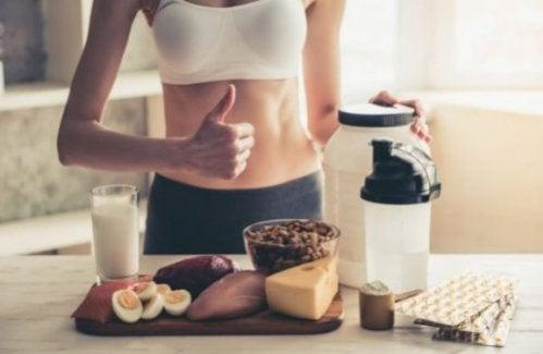 Højprotein kost: Slank dig og få muskelmasse