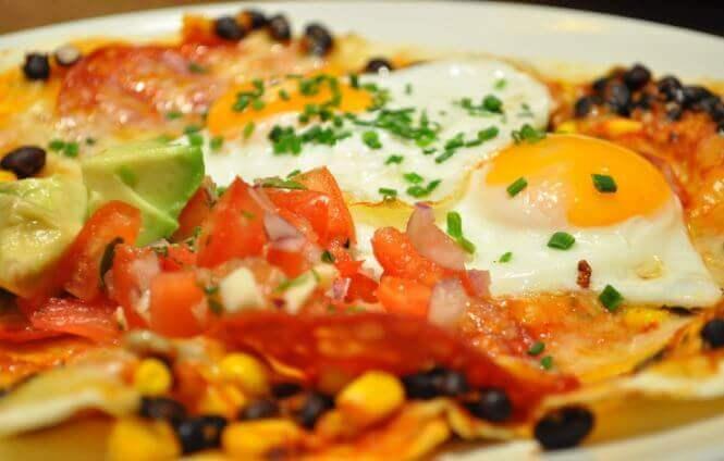 Huevos rancheros æg