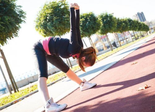 Udstrækningsrutine når du er færdig med at træne