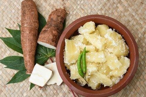 Ernæringsmæssig fakta om kassava