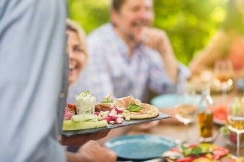 Tapasretter med et lavt kalorieindhold