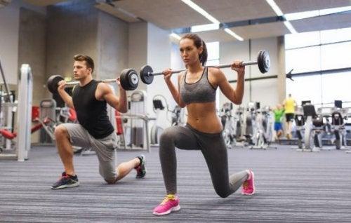 De 5 bedste træningsøvelser for begyndere