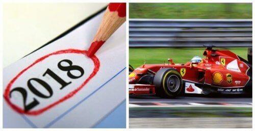 Formel 1-Kalender Anno 2018: Første kig