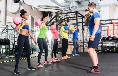 gruppe til funktionel træning
