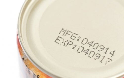 holdbarhedsdato på fødevare