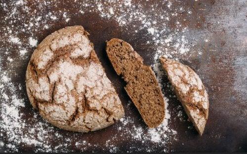 brød er sundt.