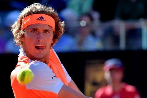 Alexander Zverev er en af de tre lovende unge tennisspillere