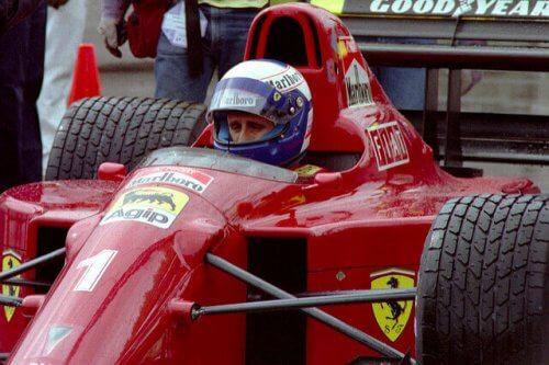 Senna og Prost i et løb