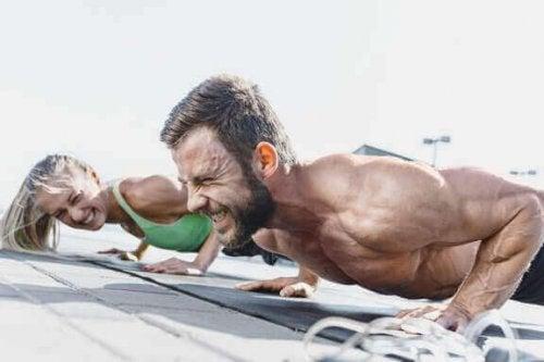 Besynderlige ting, der sker med din krop, når du træner