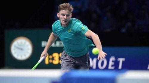 David, der spiller tennis