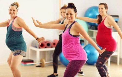 Træning under graviditet