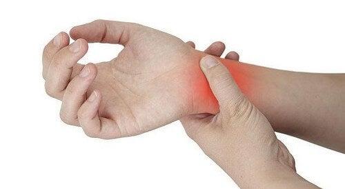 Betændelse i håndledet kan forårsage smerte