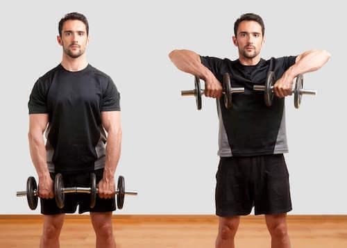 Sådan laver du perfekte lodrette rows med håndvægte