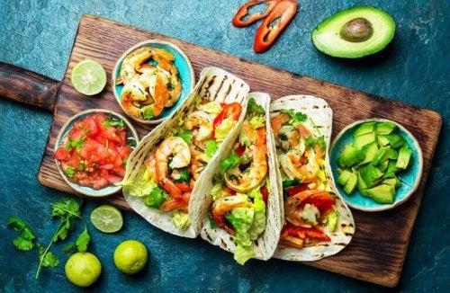 tacos med fisk
