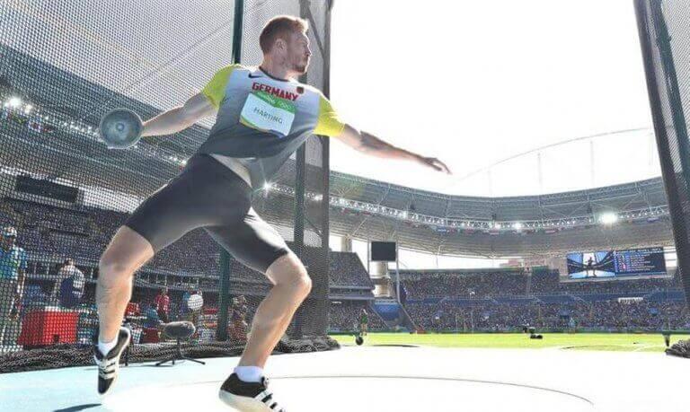 diskos kast er en af de ældste olympiske sportsgrene