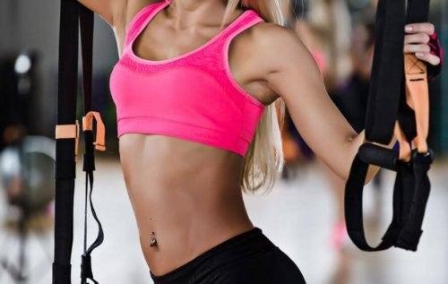 Kvinder, der dyrke bodybuilding