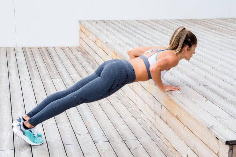 udendørs push-up