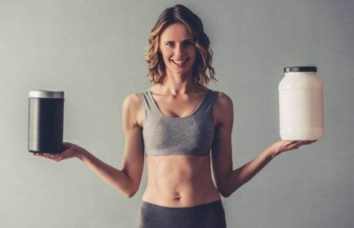 Supplementer der vil hjælpe med at opbygge muskelmasse