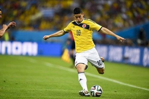 Fodboldspiller fra Colombia
