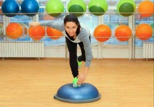 fordele ved at træne for balancen