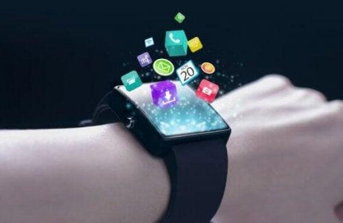 moderne nyteknologisk ur