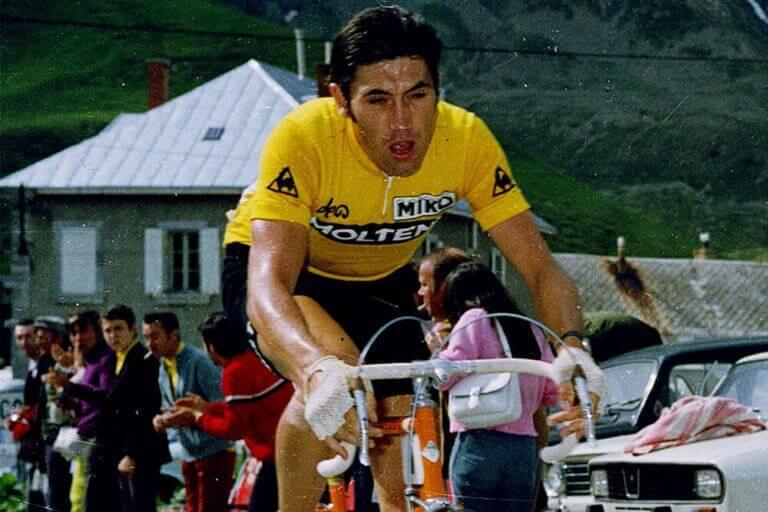 Eddy Merckx, en af de bedste cykelryttere i historien