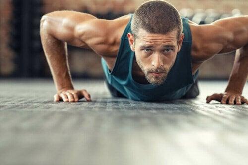 Regler for at lave bedre push-ups