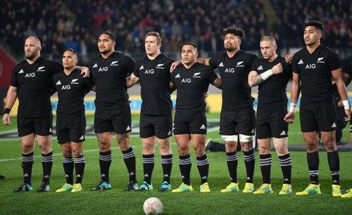 Rugby-holdet, All Blacks, har masser af motivation