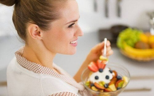 Morgenmad til atleter baseret på frugt