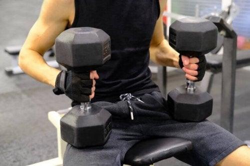 træning med vægte