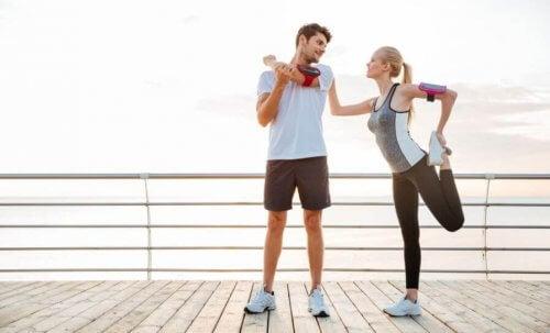 De bedste fordele ved at dyrke sport med en partner