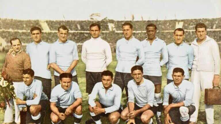 Det første verdensmesterskab i Uruguay