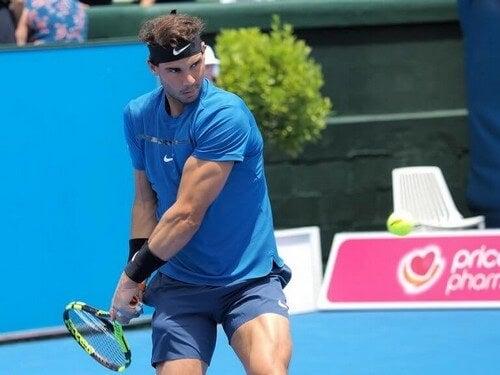Rafael Nadal fra Spanien er en fantastisk tennisspiller