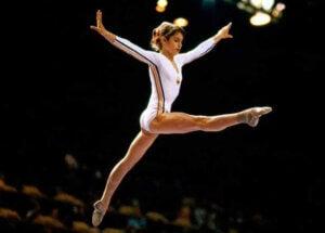 Gymnasten Nadia Comaneci