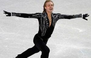 Evgeni på isen - russiske sportsfolk