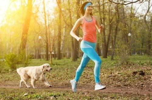 De utrolige fordele ved at løbe med en hund