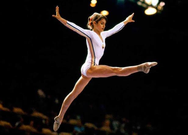 berømt gymnast
