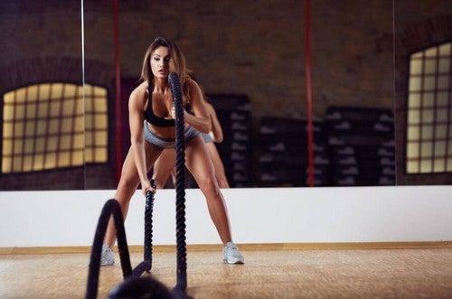 Træning med battle ropes: Det har mange fordele