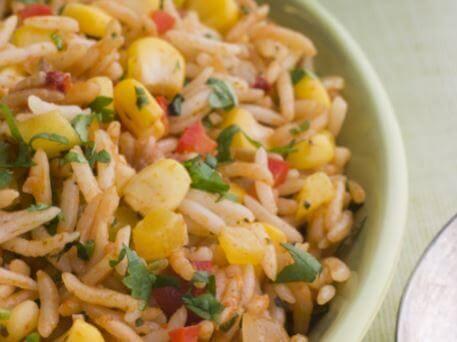 ret med ris og majs