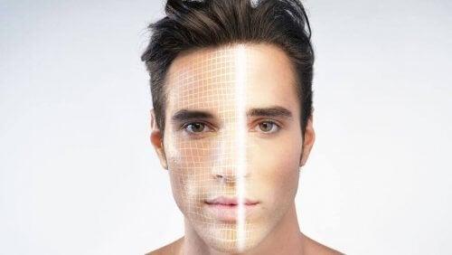 scanning af ansigt