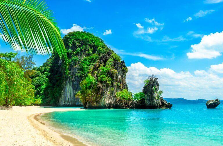 tropisk ø