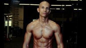 Frank Modrano, en af de veganske atleter