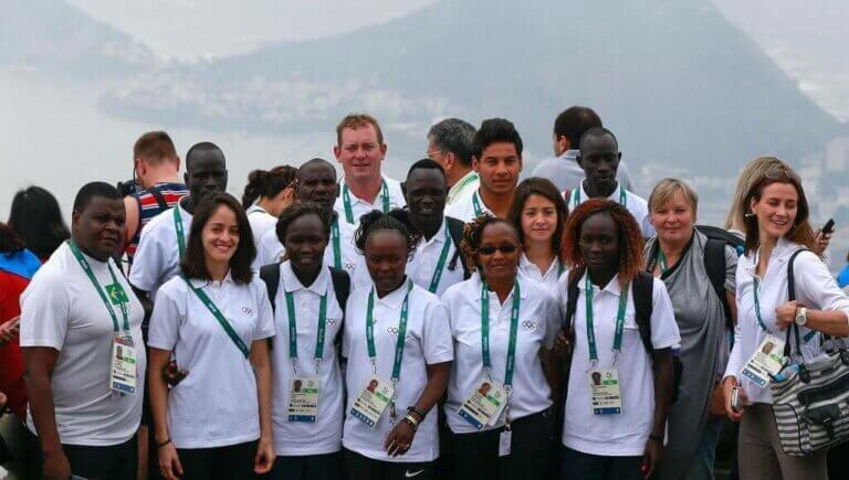 Flygtninge atleterne der deltog i Rio 2016
